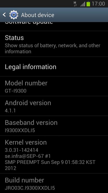 I9300XXDLI5 Samsung GALAXY S III