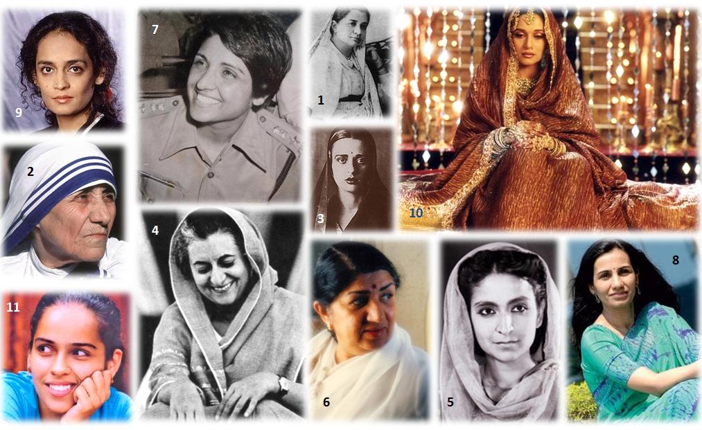 essay on women achievers in modern india