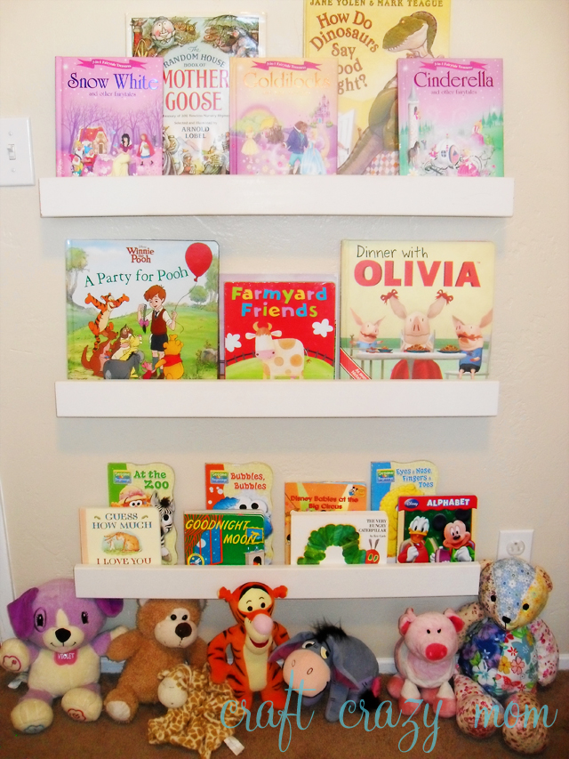 Diy book ledge maria jung im going to build her a little reading nook she can fall asleep in if she wants and a little place to have quiet time solutioingenieria Images