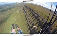 Paragliding Ben Bulben NW, Írsko