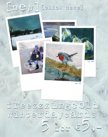set of wintercards