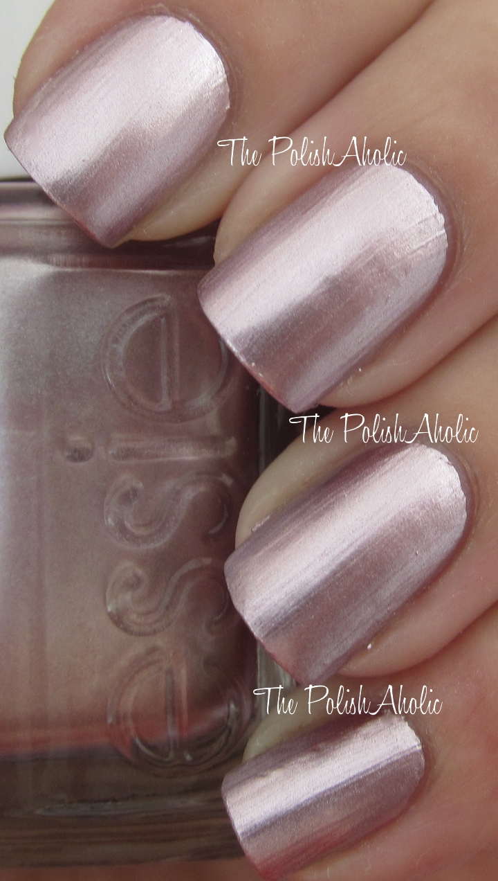 The PolishAholic: Essie Mirror Metallics Collection Swatches!