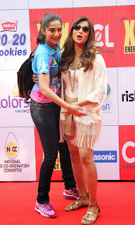 Celebrities Pictures at CCL Season 5 Mumbai Heroes Vs Veer Marathi Match CCL5  10.JPG