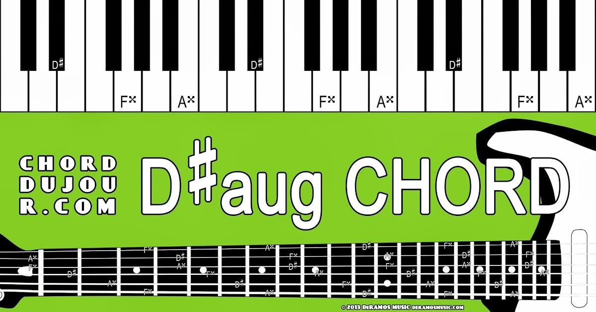 Chord Du Jour Dictionary Daug Chord