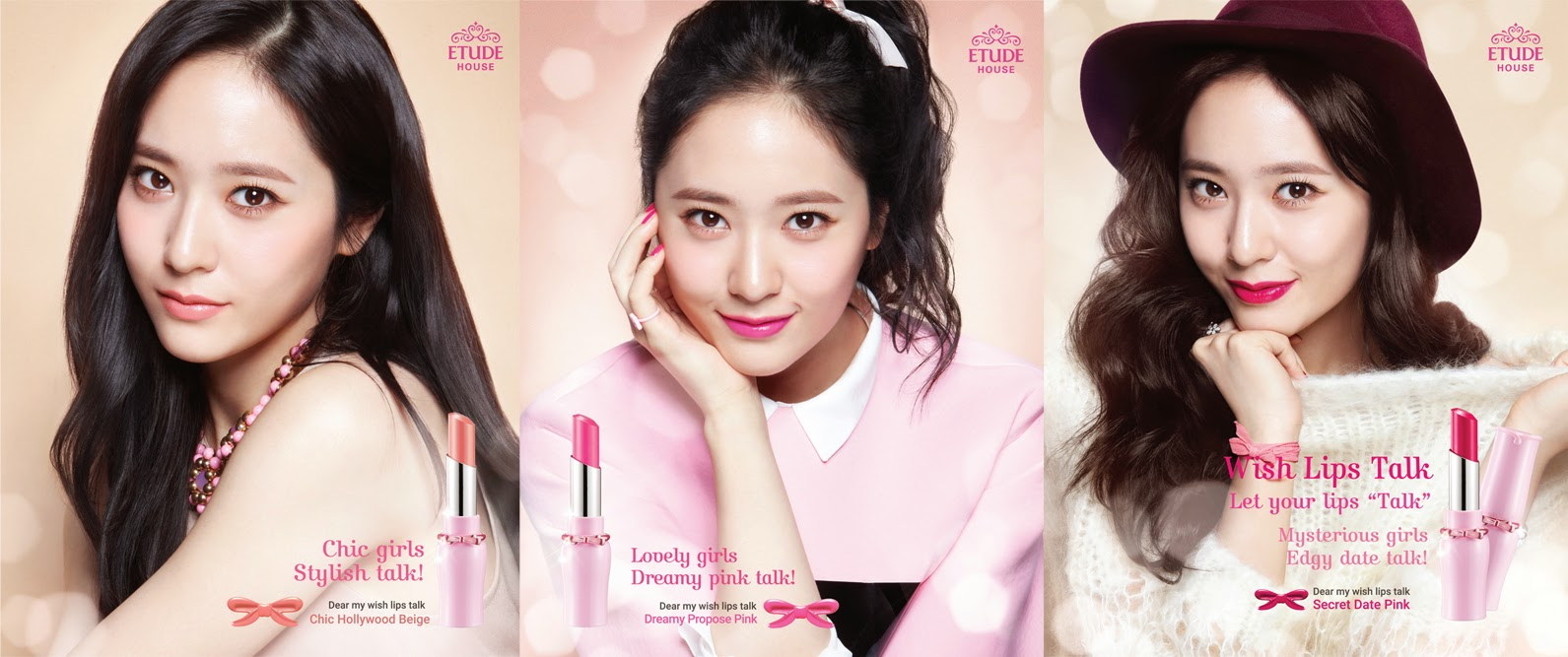 Etude House's Dear My Wish Lips-Talk