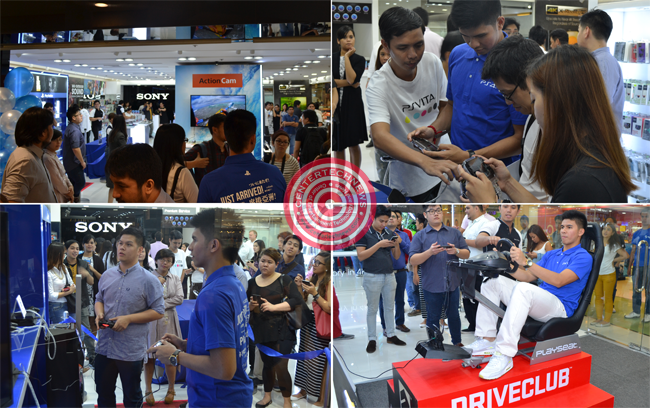 Sony First PlayStation® Flagship Store in the Philippines with Kiefer Ravena at SM Megamall September 11, 2014