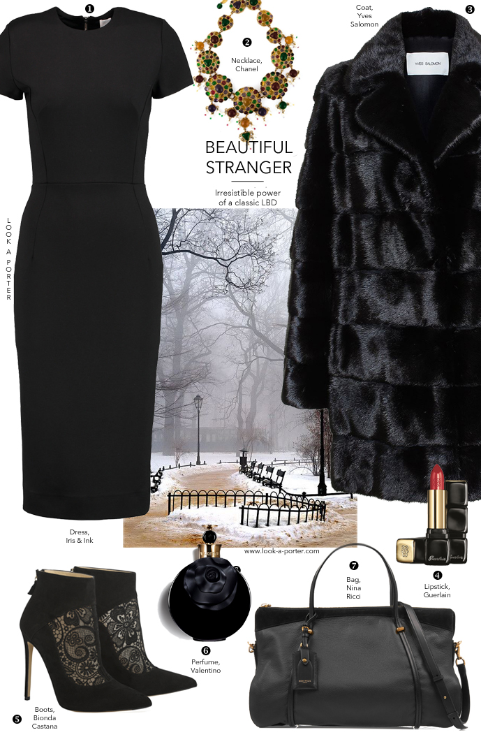 Another way to style little black dress via www.look-a-porter.com, style & fashion blog