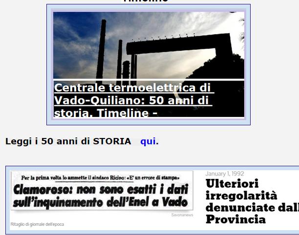 Centrale termoelettrica di Vado-Quiliano: 50 anni di storia.