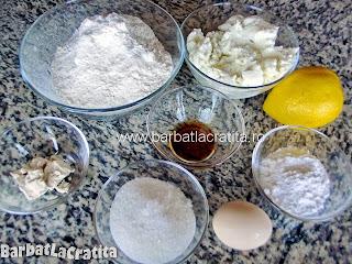 Gogosi cu branza dulce ingrediente reteta
