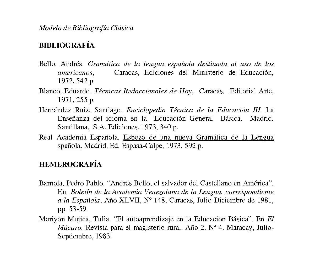 BOSQUEJOS: ELABORACIÓN DE MONOGRAFÍAS