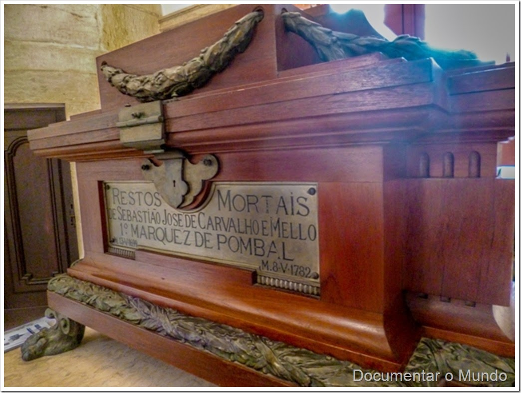 Restos Mortais do Marquês de Pombal; Igreja da Memória; Igreja de Nossa Senhora do Livramento e de S. José
