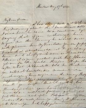 Old Fashioned Handwriting