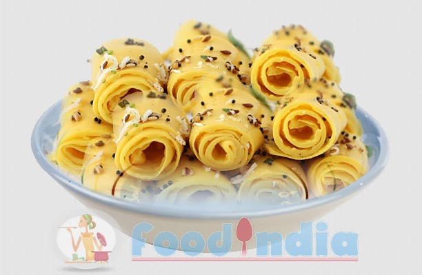 Khandvi recipe gujarat special farshan khandvi recipe indian ingredients for khandvi recipe forumfinder Image collections