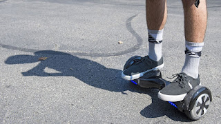 Teen on hoverboard dies after colliding with bus in London