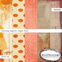 http://www.jenniferscraps.com/2014/11/13/falling-freebie-digital-paper-pack/