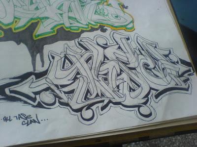 Graffiti Letters, Graffiti Sketches