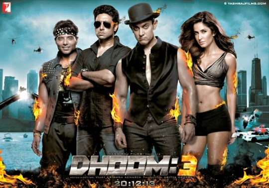 Dhoom 3 (2013) Bollywood film First Look Poster, wallpapers, pics