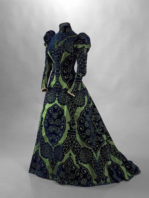 Robe de réception, Jean-Philippe Worth, 1898