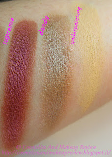 Nabla - Crème Shadow - swatches Supreme, Dandy, Underpainting