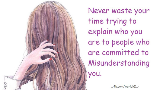 Never waste your time