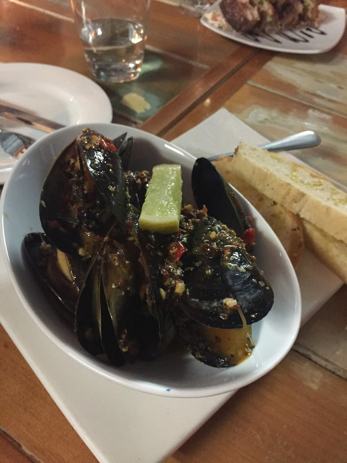 Beer Chilli Mussels Porterhouse Cassie Cakes