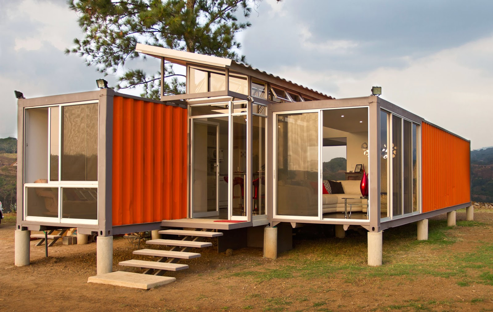 5 shipping container homes that inspire your inner architect - Homes made from shipping containers ...