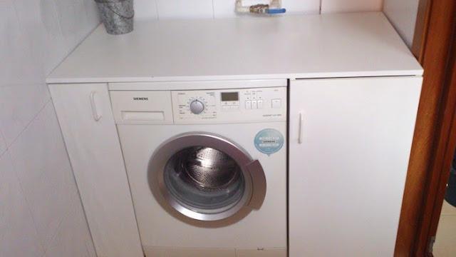 Un lavadero a medida con armarios de cocina metod mi for Lavadero de cocina con mueble