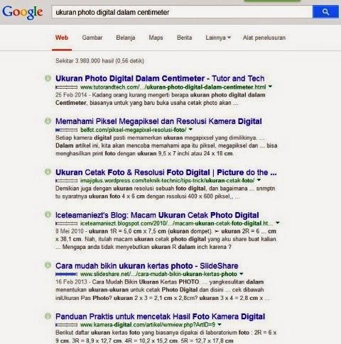 No 1 Dalam Searce Engine Google