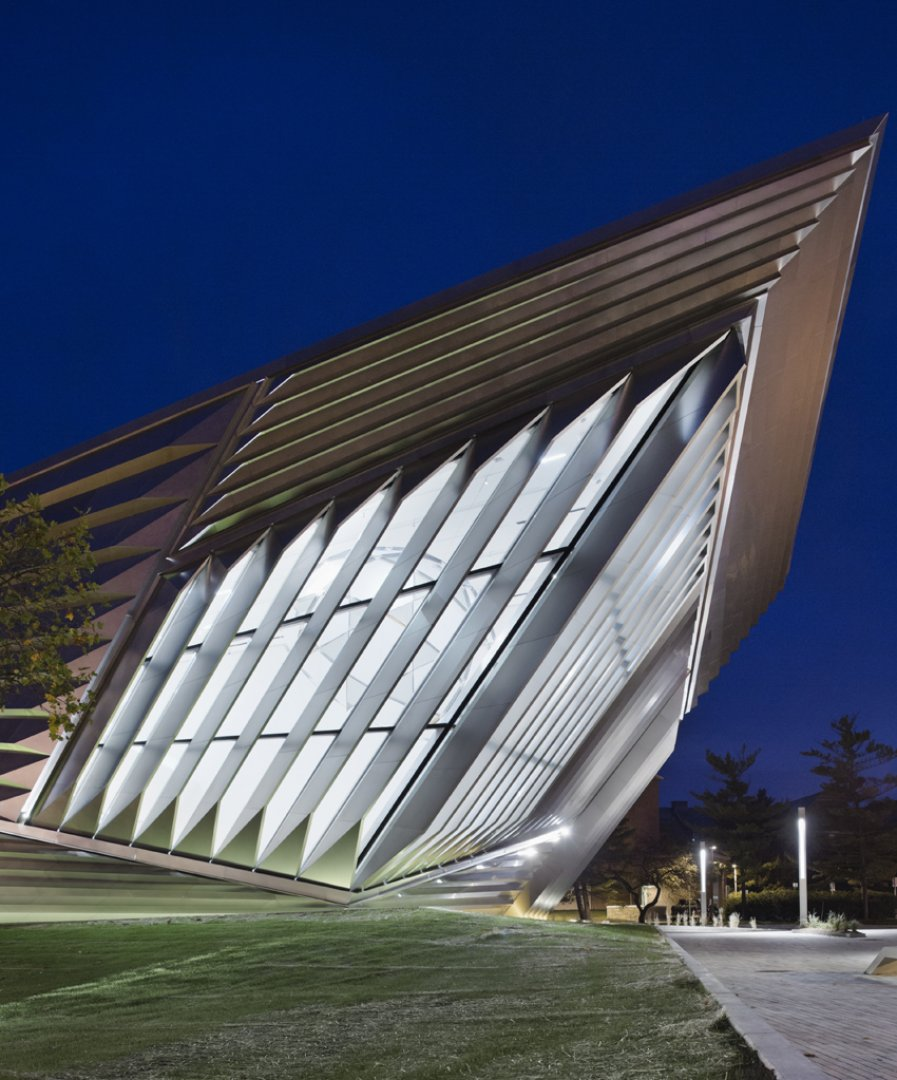 Eli edythe broad art museum east lansing usa zaha for Architecture zaha hadid