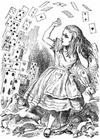 a literary analysis of alices adventures in wonderland by lewis carroll 150 years after the original publication of 'alice's adventures in wonderland', robert douglas-fairhurst (professor of english literature, university of oxford), author of the costa-shortlisted.