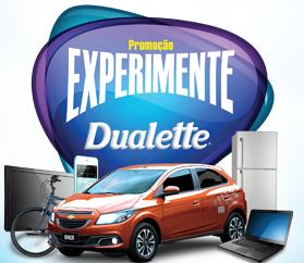 """Promoção """"Experimente  Dualette"""" - 2° edição"""