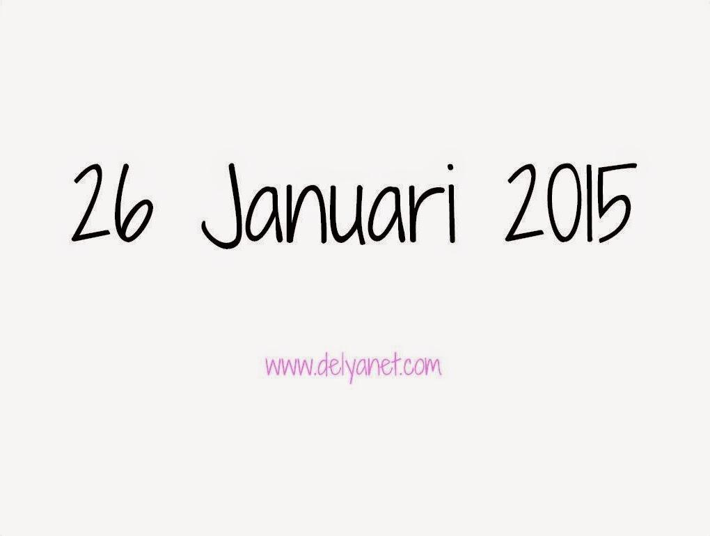 26 Januari 2015