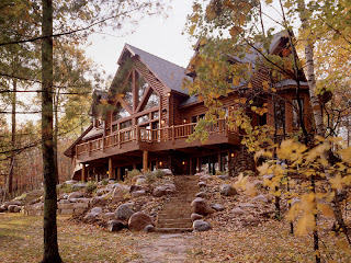 Town & Country Log Home