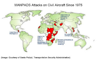 MANPADS Attacks on Civilian Aircraft Since 1975