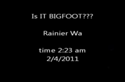 Bigfoot Calls Washington