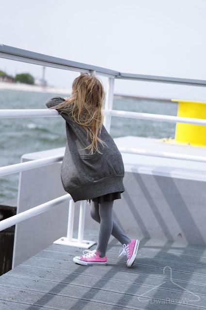Converse płaszcz Memola, spódnica booso wave