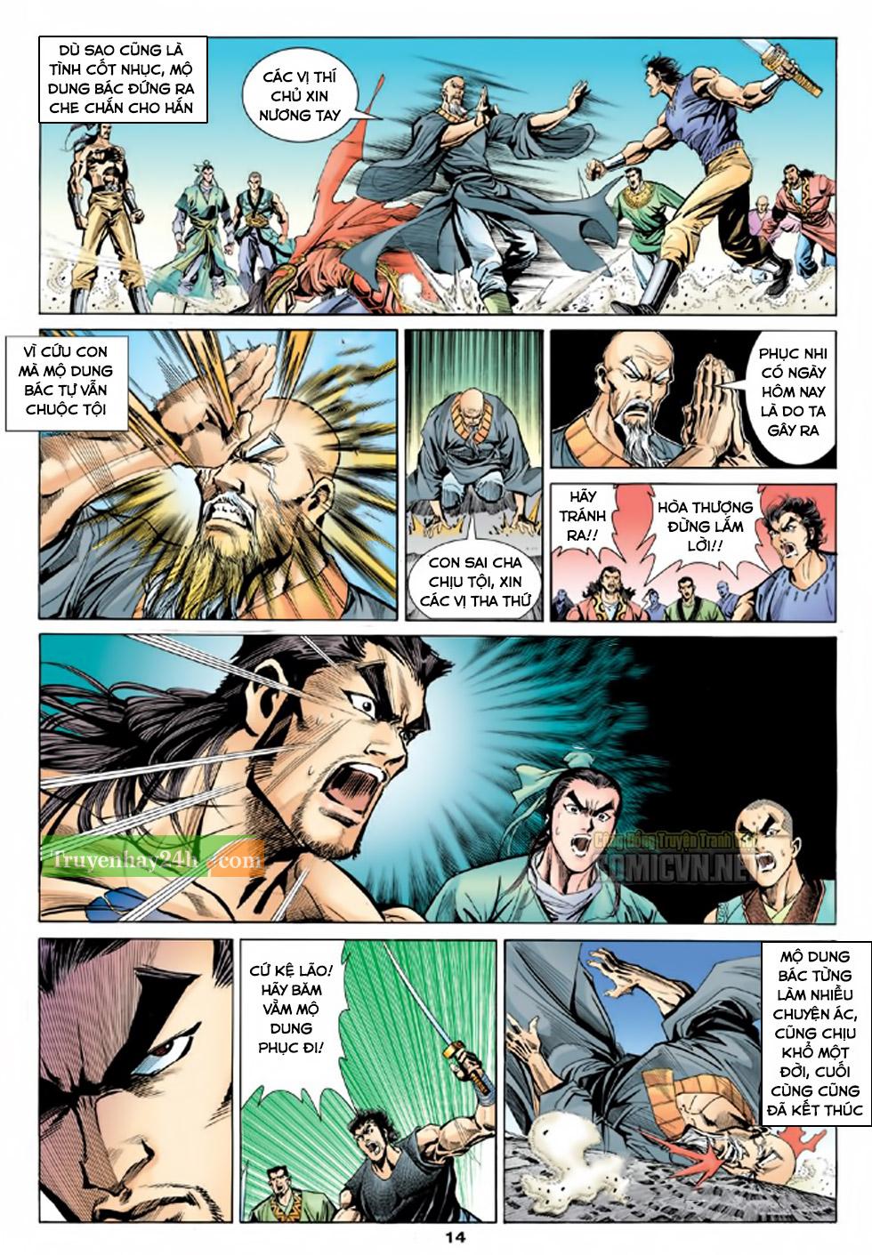 Thiên Long Bát Bộ chap 100 – End Trang 15 - Mangak.info
