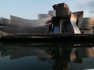 Frank Gehry's Guggenheim museum in Bilbao, Spain