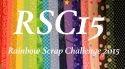 Rainbow Scrap Challenge 2015