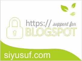 Blogspot Kini Mendukung HTTPS