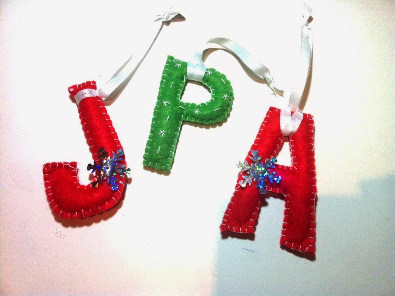 Patronesdiy diy plantillas adornos navidad letras - Adornos navidad diy ...