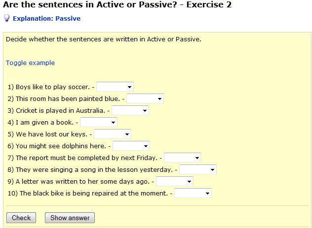 http://www.englisch-hilfen.de/en/exercises/active_passive/active_or_passive1.htm