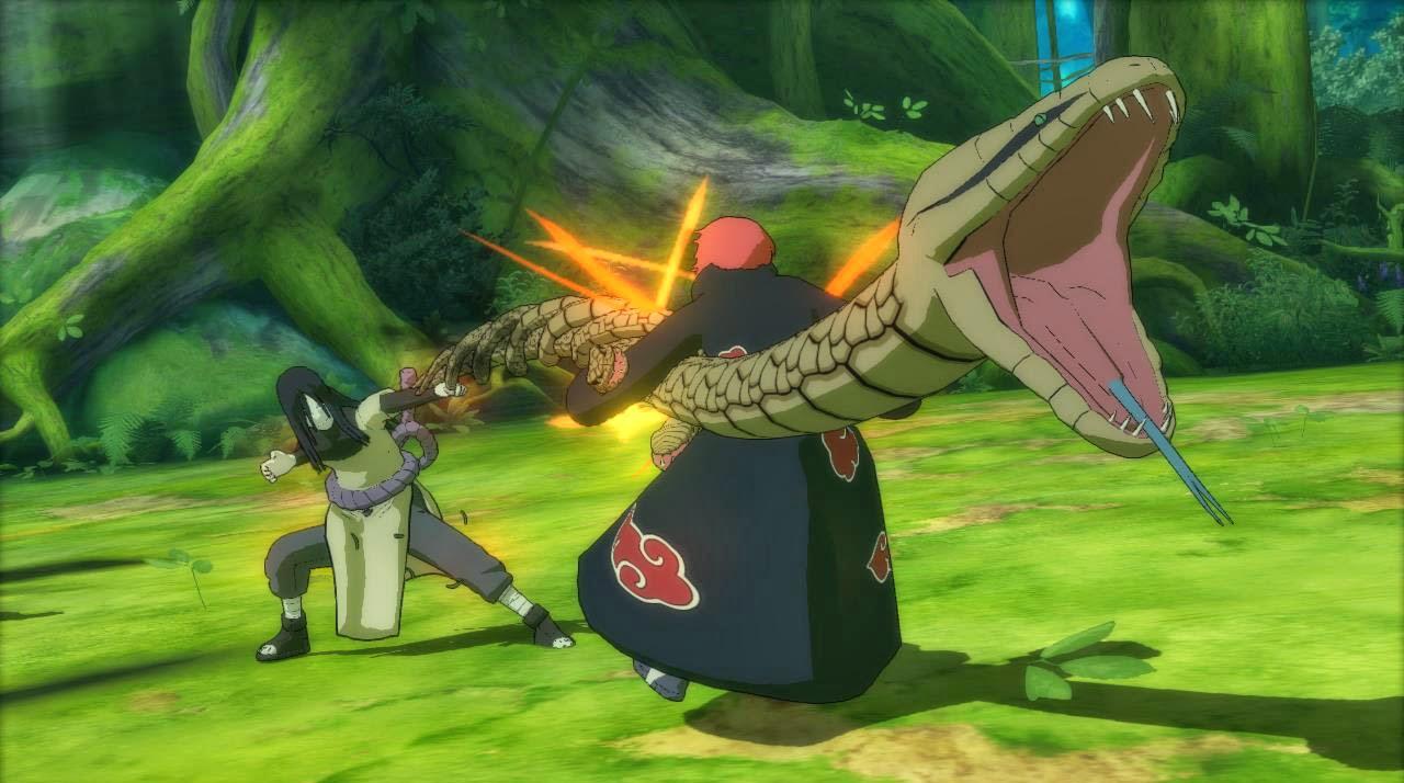 Orochimaru vs Sasori Storm Revolution