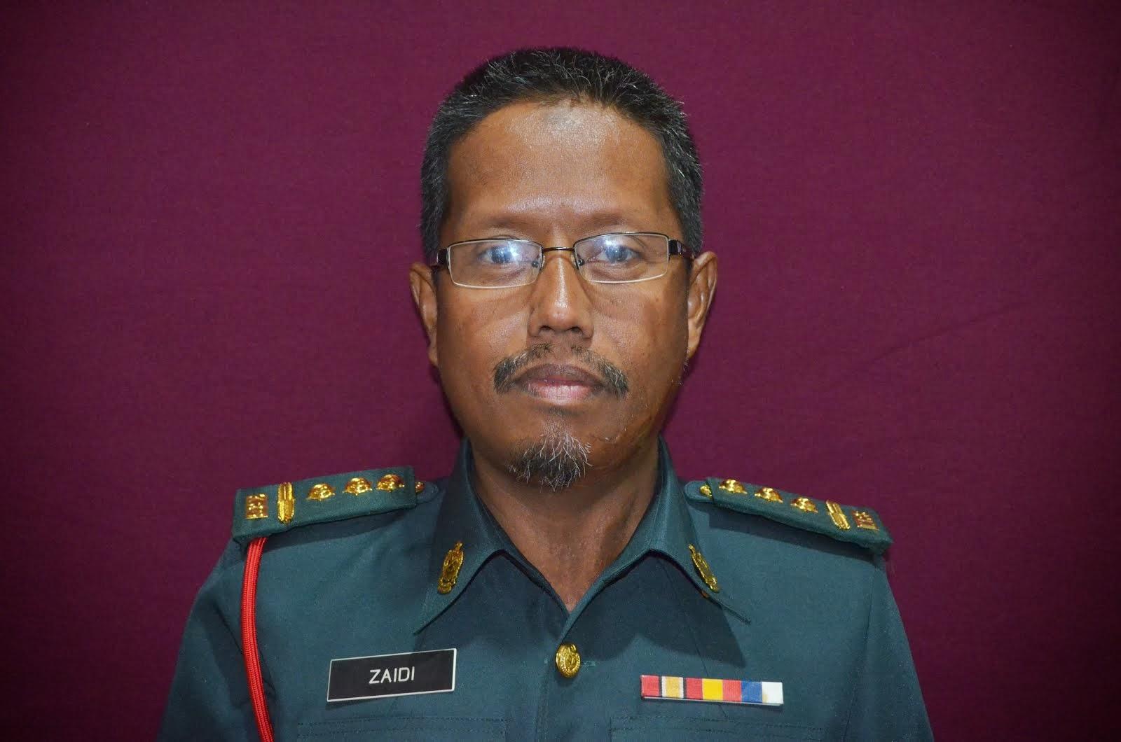 Pegawai Logistik TKRS Kedah