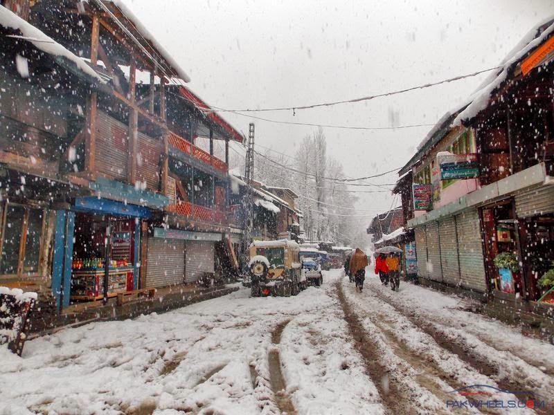 sharada bazar winter