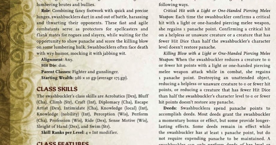 pathfinder advanced class guide pdf