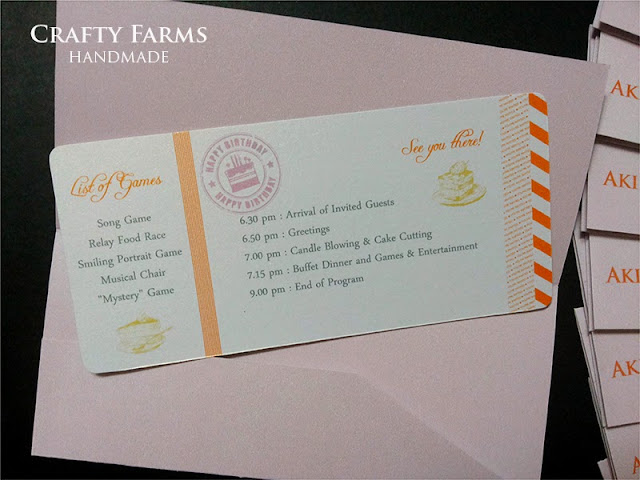 boarding pass invitation cards for birthday party