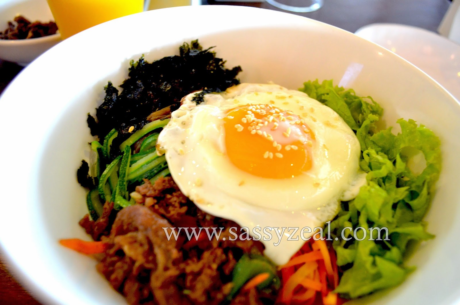 Sassyzeal authentic korean food after an exceptional spa for Authentic korean cuisine