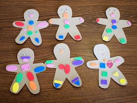 Cereal Box Gingerbread men