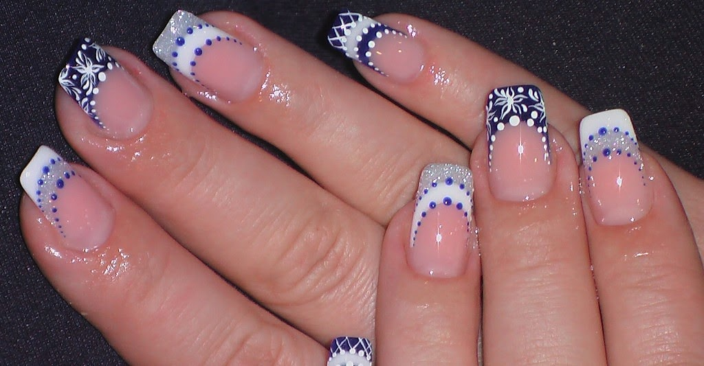 Cute and Simple Nail Art Idea